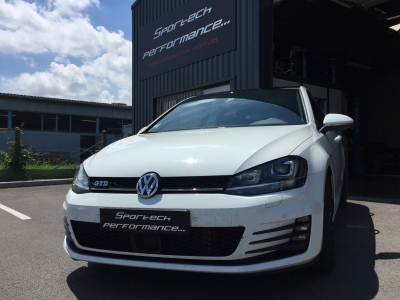 reprogrammation volkswagen golf vii gtd 184 cv sportech performance. Black Bedroom Furniture Sets. Home Design Ideas